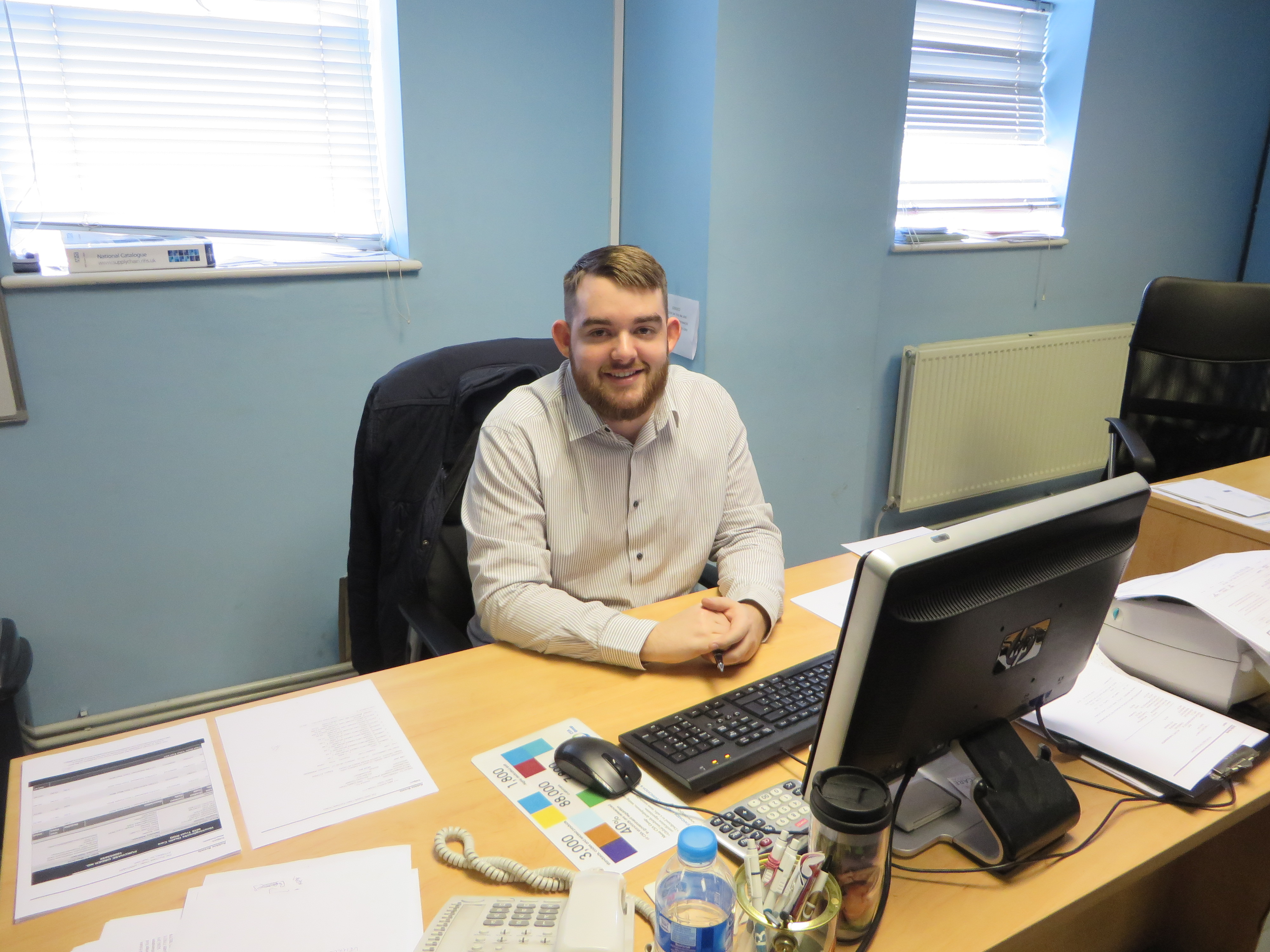 celebrating another apprentice being offered a permanent position benecare medical is pleased to announce that after an initial one year s apprenticeship robbie brewis has been taken on as a customer service and s