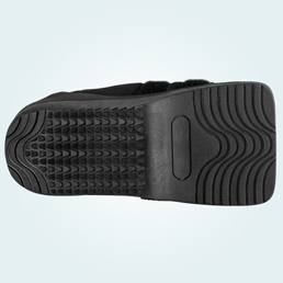 The Wedge Shoe has a wide base for extra stability.